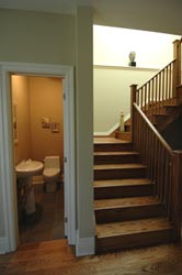 Stairs and hallway paint colour