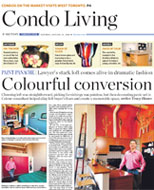 Toronto Star Article on Sylvia O'Brien - Colourful Conversion