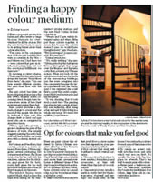 Toronto Star Newspaper article on Colour Theory